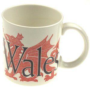 Cymru Wales Starbucks Dragon City Mug 24oz 2002